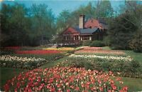 Westport Connecticut~The Red Barn Gardens And Patio 1960
