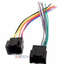 HWH-1108 Aftermarket Radio Replacement Wire Harness for Select Hyundai & Kia
