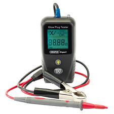 Professional Draper auto-CALIBRAGE Glow plug tester checker 12 V 24 V NOUVEAU