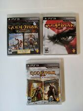 PS3 PlayStation 3 God of War LOT:Origins,  Collection, GOW III(5 GAMES) complete