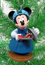 Disney Mickeys Christmas Carol Minnie as Emily Cratchi Figure Christmas Ornament