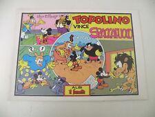 TOPOLINO VINCE SPACCAFUOCO - FUMETTO - WALT DISNEY - NUMERATO 1985 - L27