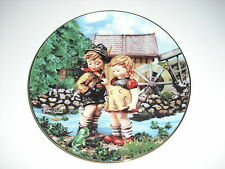 "M J Hummel ""Hello Down There"" Plate #O5632"