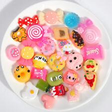 10Pcs/Set Fast Food & Rilakkuma Cute Novelty Charms Kids Children Toys Gift