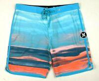 Hurley Men's Phantom Surf Swimwear Stretch Boardshort Board Shorts - Size 34