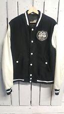 Vintage DIESEL 55 Quilted Woolen Varsity Jacket | Men's XL | Retro Wool Bomber