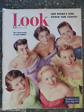 Look Magazine  April 11,1950  Don Newcombe  GREAT VINTAGE ADS  Teen-Age Girls