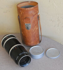Hasselblad Carl Zeiss Sonnar 250mm F5.6 Lens with Case and Caps 1000 1600 F
