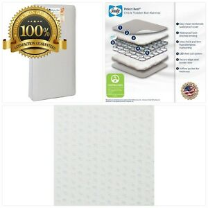 Sealy Baby Perfect Rest Waterproof Standard Toddler & Baby Crib Mattress - 150 E