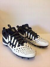 Nike Huarache 5 V Men's Lacrosse Cleats Size 13 Midnight Navy White 807142-410