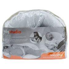Baby Studio Maternity Sleeping Nursing Body Breastfeeding Pillow - Grey Chevron