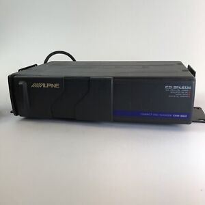Alpine CHM-S601 6-Disc CD Changer with Cartridge Included & Extra Cable