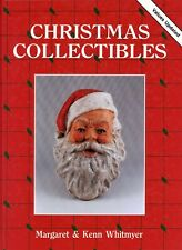 New ListingAntique Christmas Santa Ornaments Lights Paper Etc. / In-Depth Book + Values