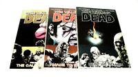 THE WALKING DEAD TRADE PAPERBACKS #7, #8, & #9  Image Comics