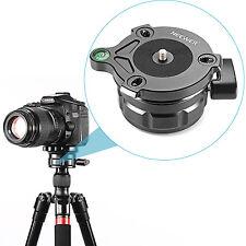 Neewer 69mm Tripod Leveling Base w/ Offset Bubble Level f Canon,Nikon&more