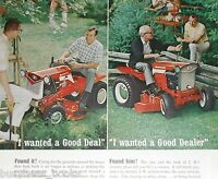 1967 Simplicity Lawn Tractor advertisement, Broadmoor 707, Landlord 2012 ride-on