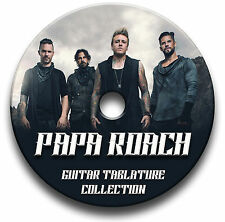 PAPA ROACH GUITARE ROCK TABLATURE LIVRE MUSICAL ANTHOLOGIE CD DU LOGICIEL
