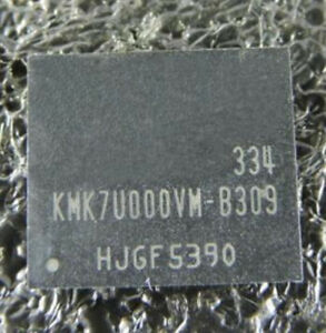1 pcs Emmc Memory KMK7U000VM-B309 KMKUS000VM-B410 KMK7X000VM-B314  For Samsung