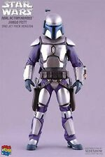 MEDICOM Sideshow 1:6 Scale Star Wars Jango Fett Pose-able 12'' Man Action Figure