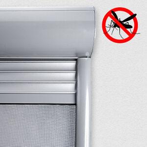 PVC Vorbaurolladen rund auf Maß Rolladen mit Insektenschutzrollo Insektenschutz
