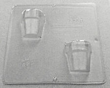 Large Flower Pot Chocolate Mold, 3D Plant Pot Candy Mold, Plastic Candy Molds