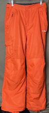 Champion Women Snow Pants Medium 8-10 Neon Orange Hunting Skiing Snowboarding