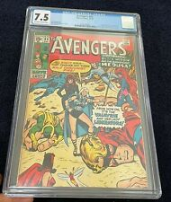 Avengers #83 (Dec 1970) CGC 7.5 Key (1st Liberators, Valkyrie, Black Widow app)