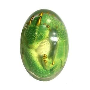 Crystal Lava Dragon Egg Ornamental Collection Dinosaur Egg Decor Resin Egg