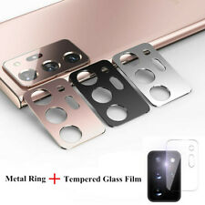 For Samsung Galaxy Note20 Ultra Camera Lens Ring Tempered Glass Screen Protector