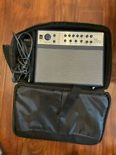 AXL Thin Amp   DSP-10   Portable Guitar Amplifier   with Carrying Bag and Cables