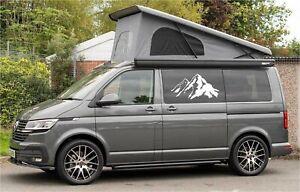 (No.786) Camper Van Graphics Motorhome Decals Caravan RV Stickers Universal Kits
