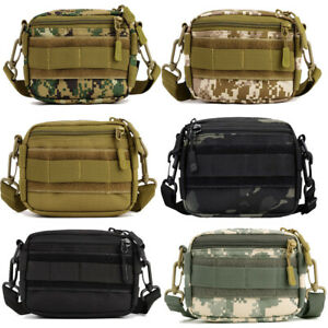 Tactical Pouch Utility MOLLE Duffel Bag Casual Messenger Bag Military Waist Pack