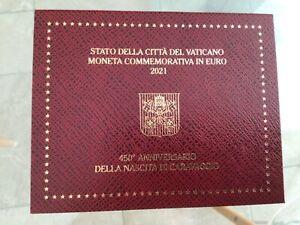 Coffret 2€ version F.D.C du Vatican année 2021/ Vendeur français.