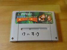 GAME/JEU SUPER FAMICOM NINTENDO NES JAPANESE Donkey Kong 1 SHVC-8X SANS BOITE **