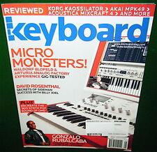 2008 KORG KAOSSILATOR, Waldorf Blofeld, AKAI MPK49 Reviewed in Keyboard Magazine