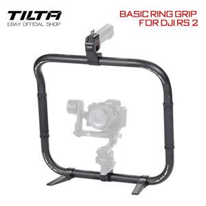 Tilta Basic Ring Grip Gimbal Handle Cam Holder Power Battery Plates For DJI RS 2