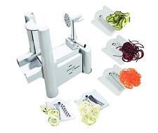 5 Blade Terrines Spiralizer - Best Vegetable Maker Spiral Slicer Peeler