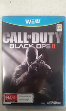 Call of Duty Black Ops II 2 Nintendo Wii U PAL Version