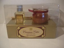 Aromatique Cinnamon Cider Just For You Diffuser Oil w/Reeds & Candle Set - b10