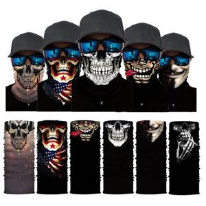 Face Mask Neck Gaiter Balaclava Bandana Scarf Cover Washable Reusable Breathable