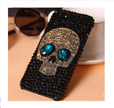 Punk style Spikes Studs Rivet Cap diamond Bling Phone case For iPhone 3D Max XS
