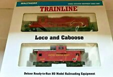 WALTHERS US Army 4600 Diesel Locomotive & 909 Caboose Set - 931-701 HO Scale