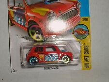 Morris Mini Hot Wheels 2016 Red #193 ERROR