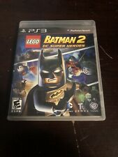 LEGO Batman 2: DC Super Heroes (Sony PlayStation 3, PS3) Video Game