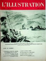 Original L'ILLUSTRATION French Magazine Apr 20 1940 Naval Battle Narvik Fjord