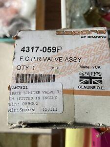 Austin Morris Rover Mini Cooper Brake Limiter Valve FAM7821