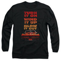 Pontiac BLOW IT OUT GTO Licensed Adult Long Sleeve T-Shirt S-3XL