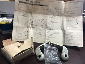 1952 FORD NOS ROAD LAMP ADAPTER KIT RARE CPA-18207 CUSTOM VICTORIA MAINLINE