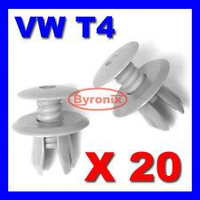 20 X VOLKSWAGEN VW T4 T5 TRANSPORTER INTERIOR TRIM LINING PANEL CLIPS - L GREY