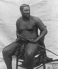 Cetshwayo Kampandi Zulu King 1875 6x5 Inch Reprint Photo